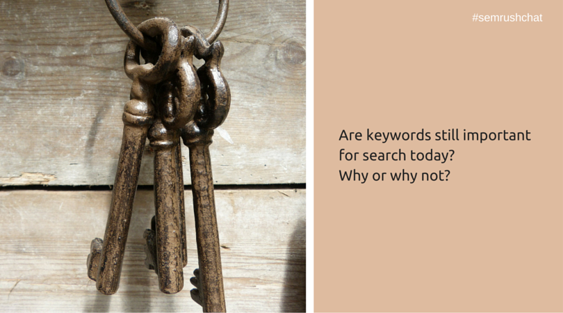 Are keywords important?