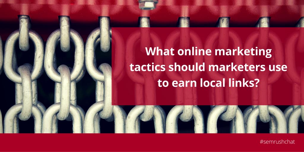 Online marketing tactics
