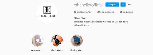 Outreach marketing - Ejemplo Ethan Elliot
