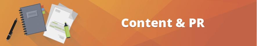 Nuove funzionalità per Content e PR