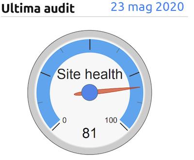report site sudit in data studio