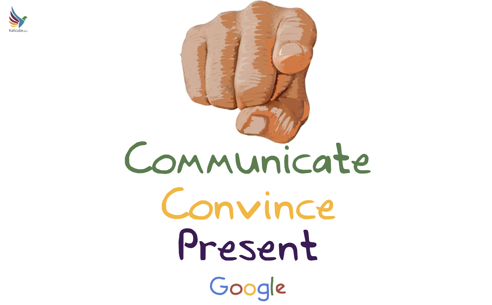 Communicate Convince and Present