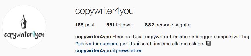 Eleonora Usai: account Instagram da seguire