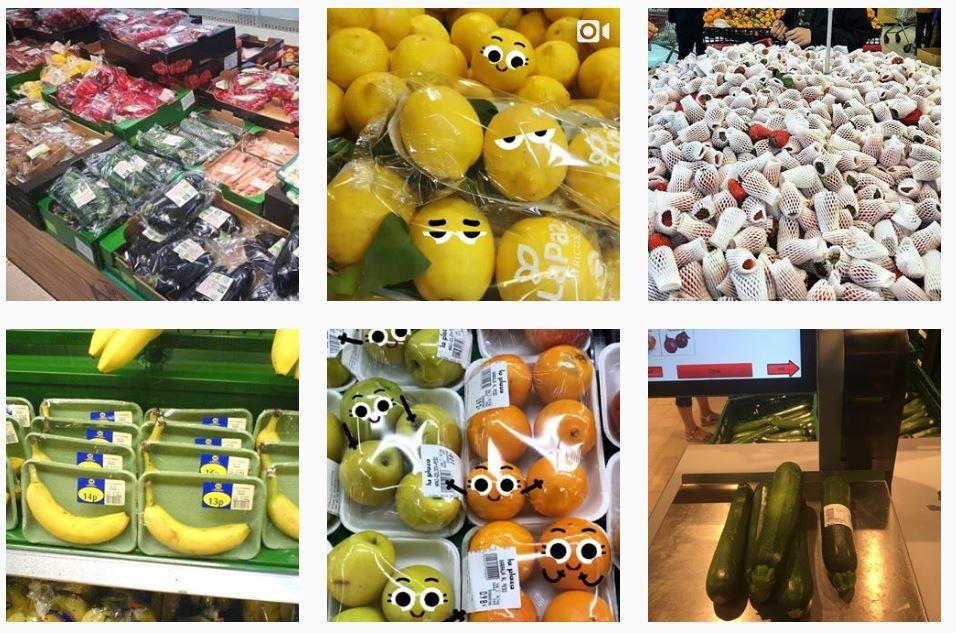 UGC Instagram desnuda la fruta