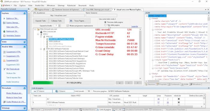 I tool per fare SEO audit: Visual SEO