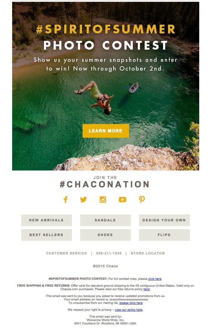 Strategia estiva per email marketing: lanciare concorso o contest