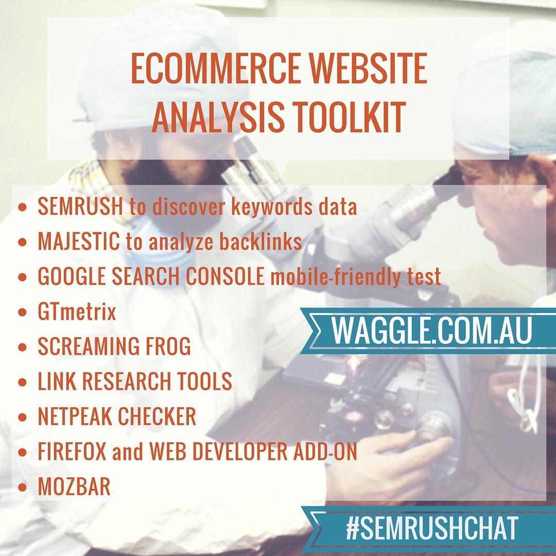 E-commerce Website Analysis #semrushchat. Image 9