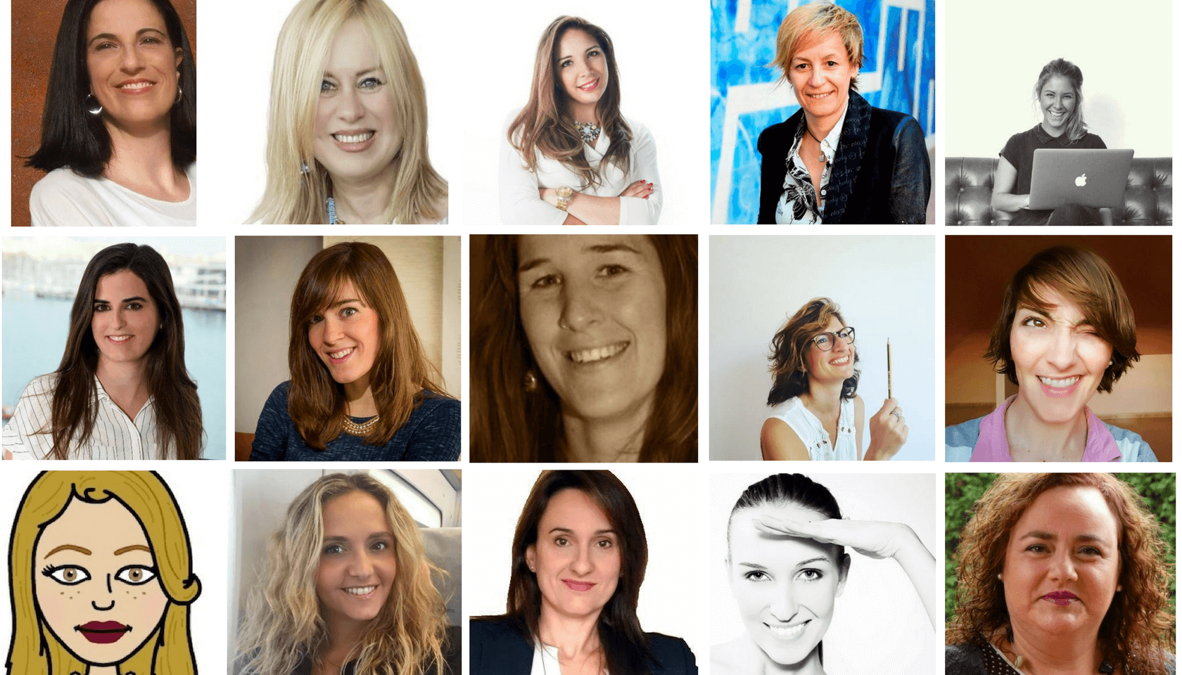 15 colaboradoras de SEMrush representan a las mujeres en marketing