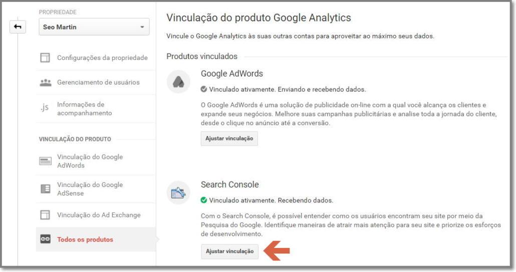 Vincule a versão Https em seu Google Analtycis