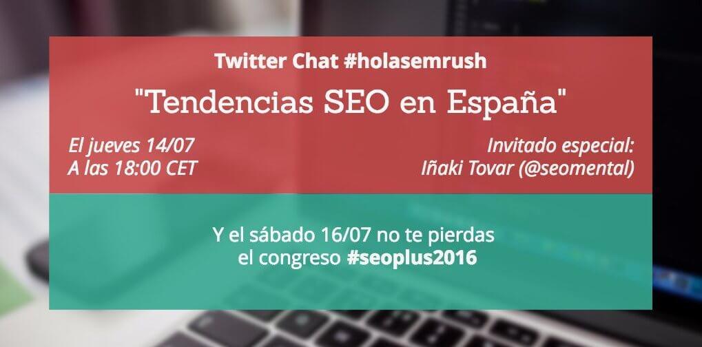 Tendencias SEO en España - Twitter chat