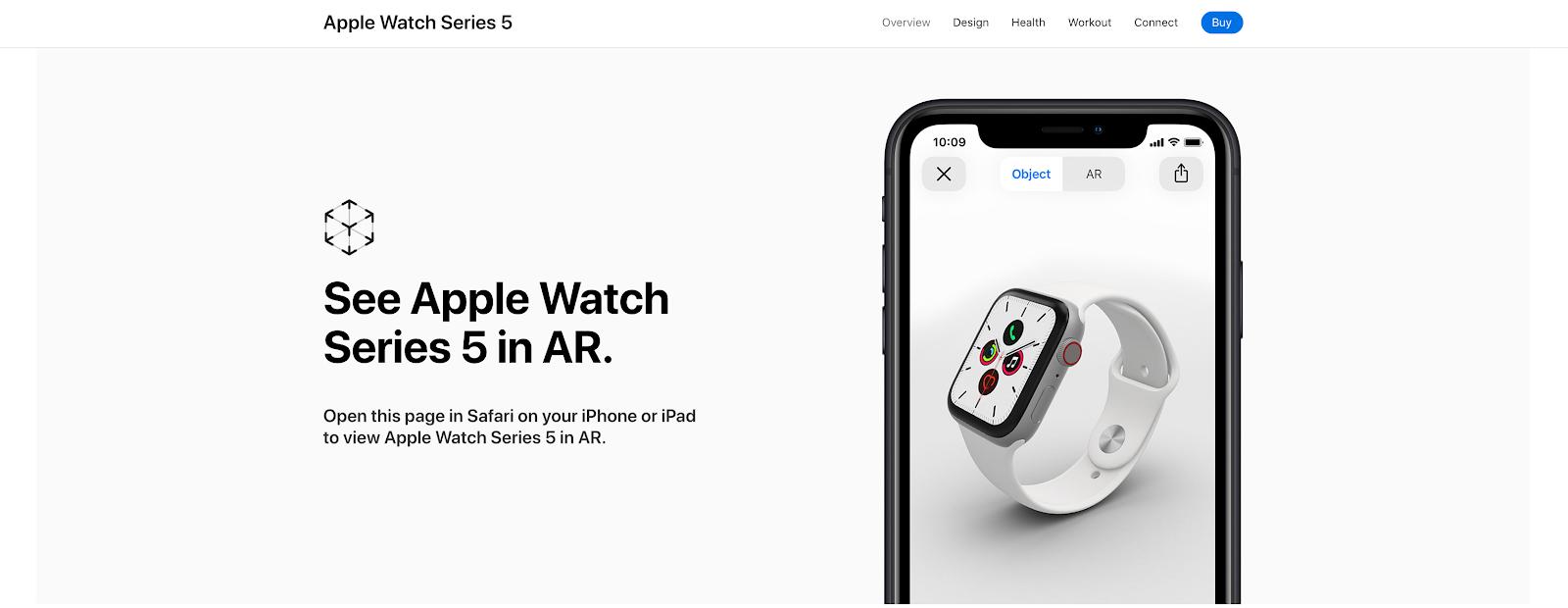 How Apple use AR to create trust