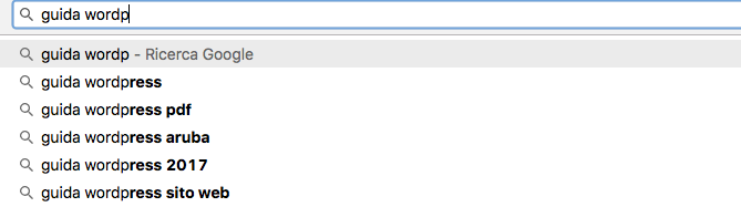 Google Suggest: utile tool per fare Content marketing