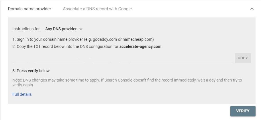 O guia definitivo para o Google Search Console. Imagem 1