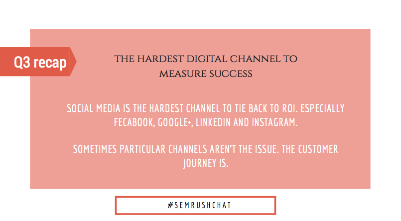 The hardest digital channel to measure success
