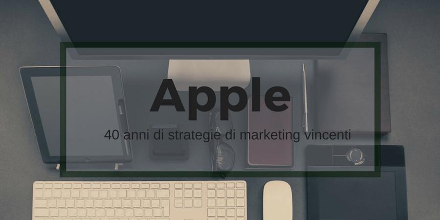 Esperimento di real time marketing, case history 2: I 40 anni di Apple