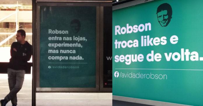 """Campanha 'A vida de Robson"""", feita pela ABOOH"""
