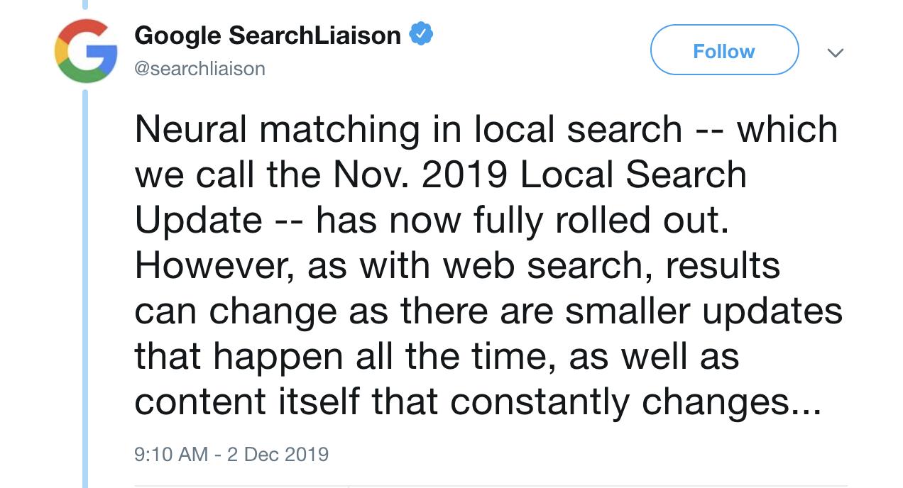 Notícias do Google: Dezembro 2019. Imagem 1