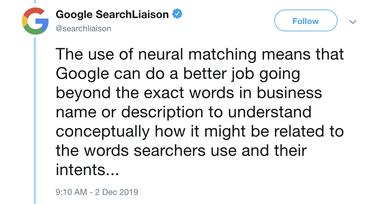 Google News Digest: Neural Matching in Local Results, Google Features, Ad News, and More. Image 0