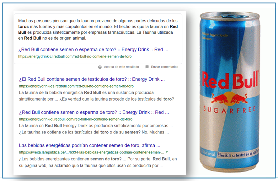 Lovebrands - Red Bull y Taurina