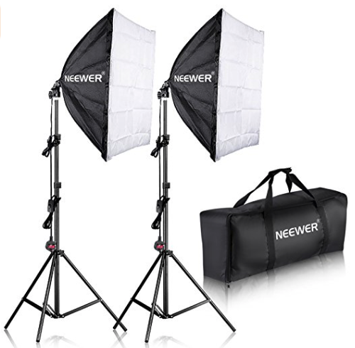 Neewer 2-Head Lighting Kit