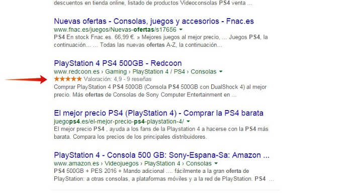 SEO para eCommerce Rich Snippets