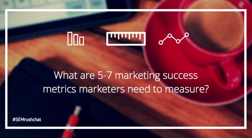 Marketing success metrics
