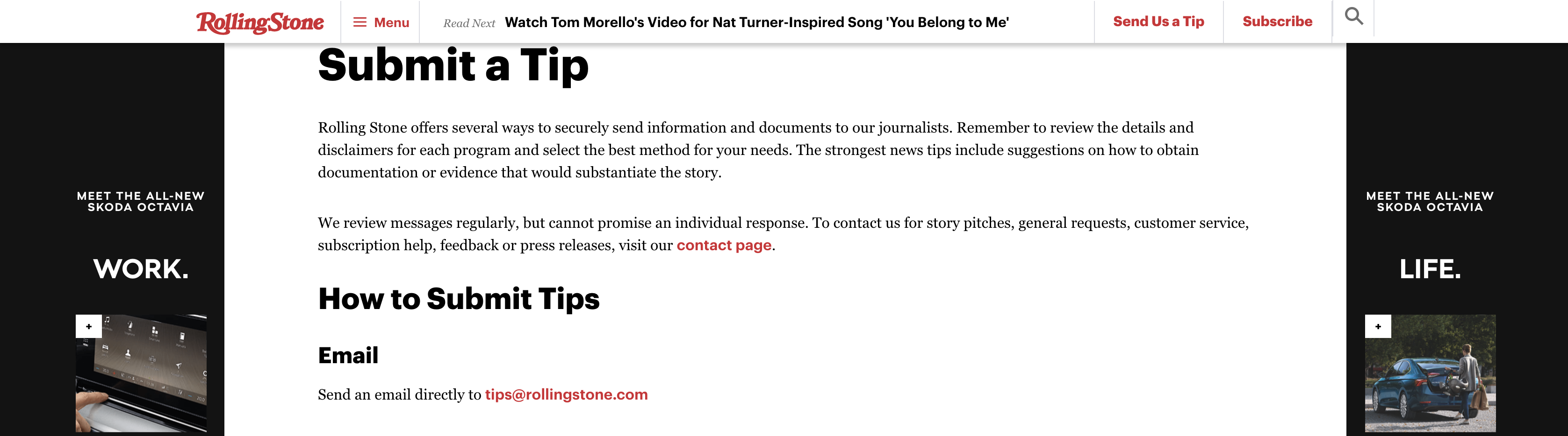 rolling stone example