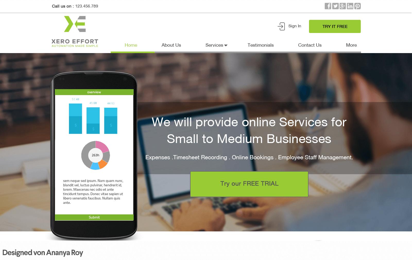 Abbinamenti giusti nel web design: colore verde per le CTA
