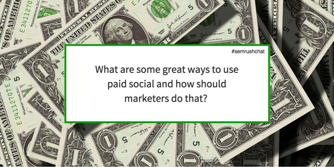 Great ways to use paid social