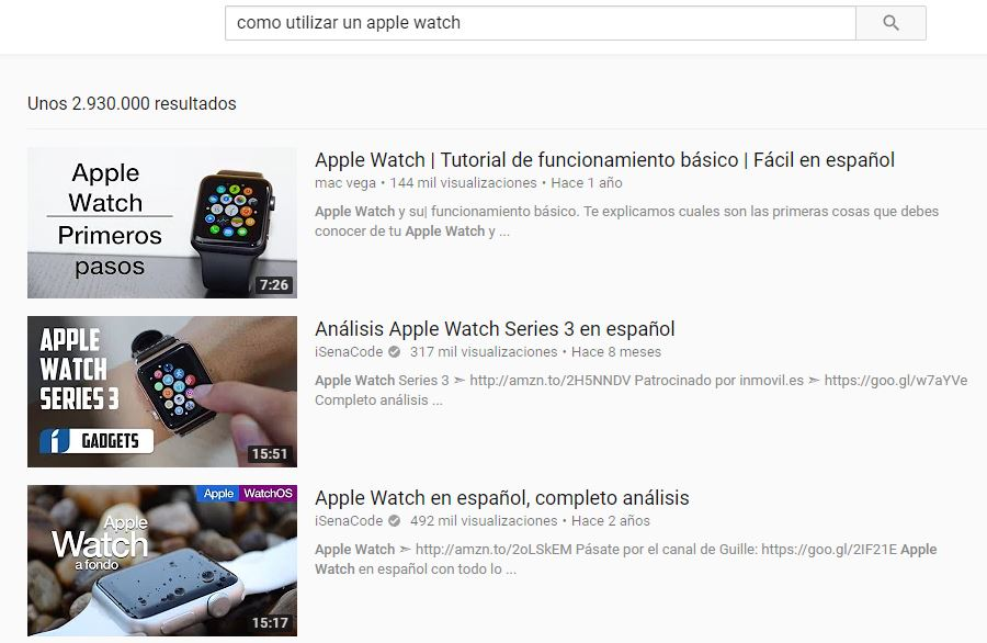 UGC YouTube Apple watch