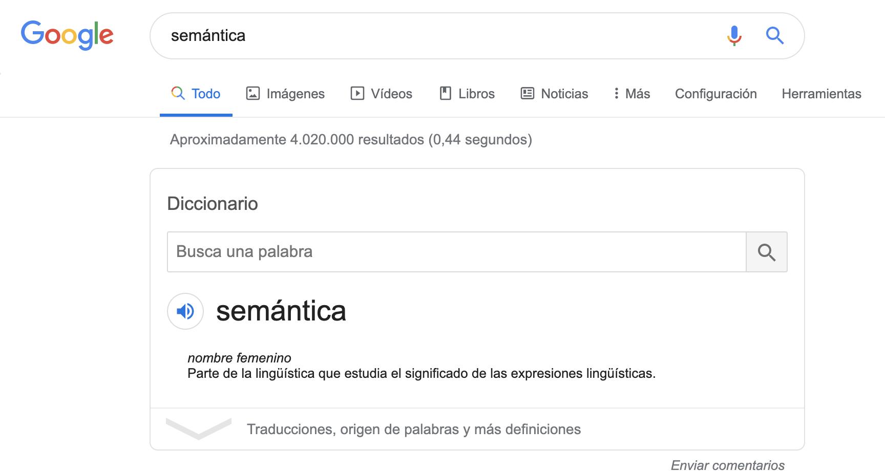 Qué es Schema - Ejemplo de SEO semántico