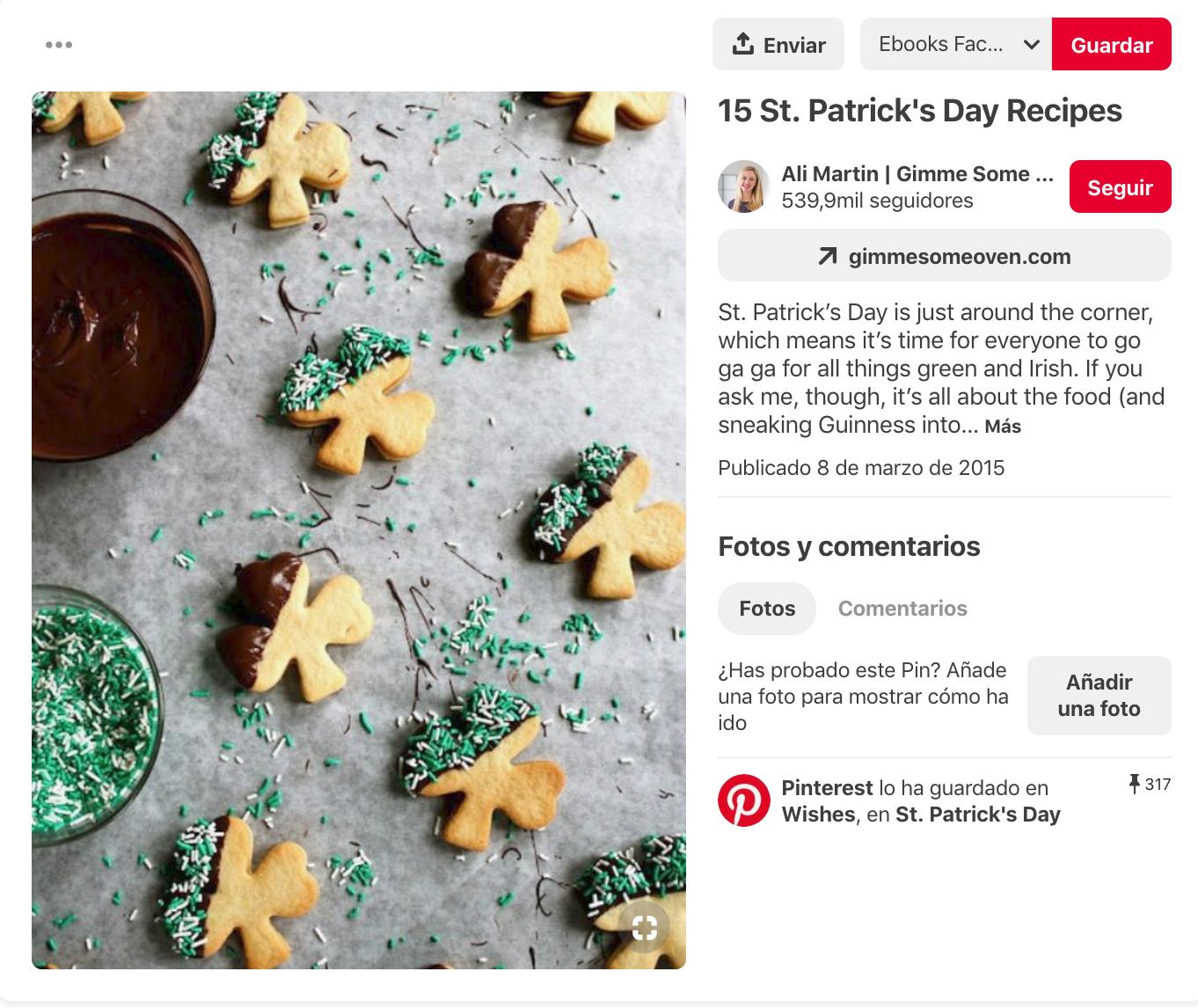 Qué es Pinterest - Análisis de un pin