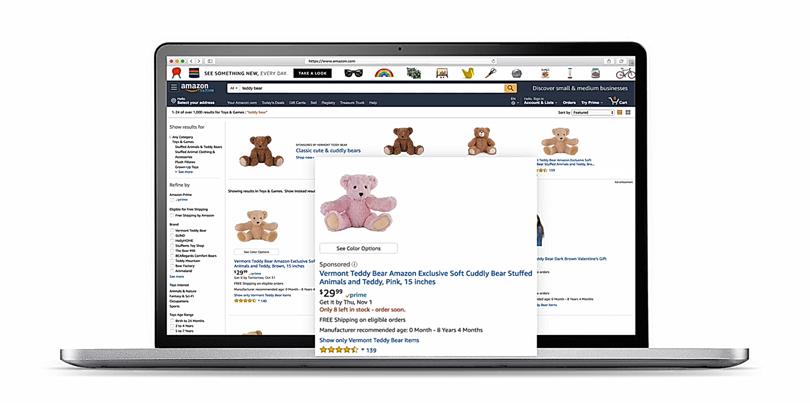 Publicidad en Amazon - Sponsored products