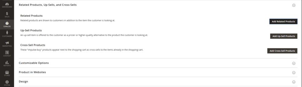 La funzione prodotti correlata per fare internal linking su un ecommerce con Magento 2
