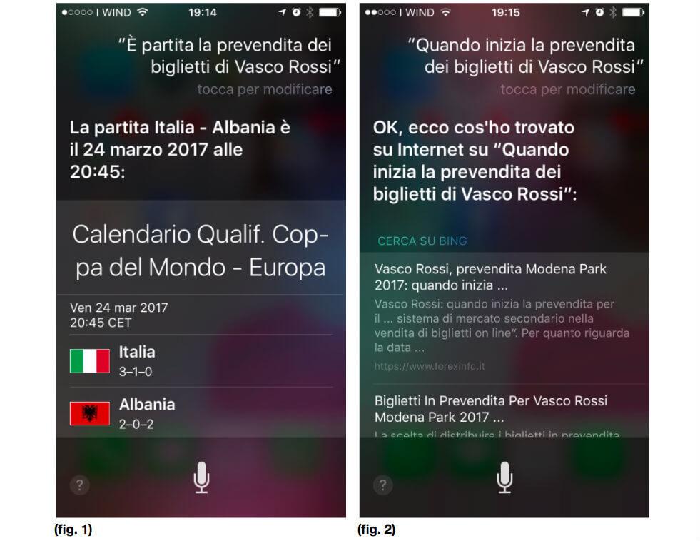 Esperienza dettatura Siri: i risultati forniti dall'assistente vocale di Apple