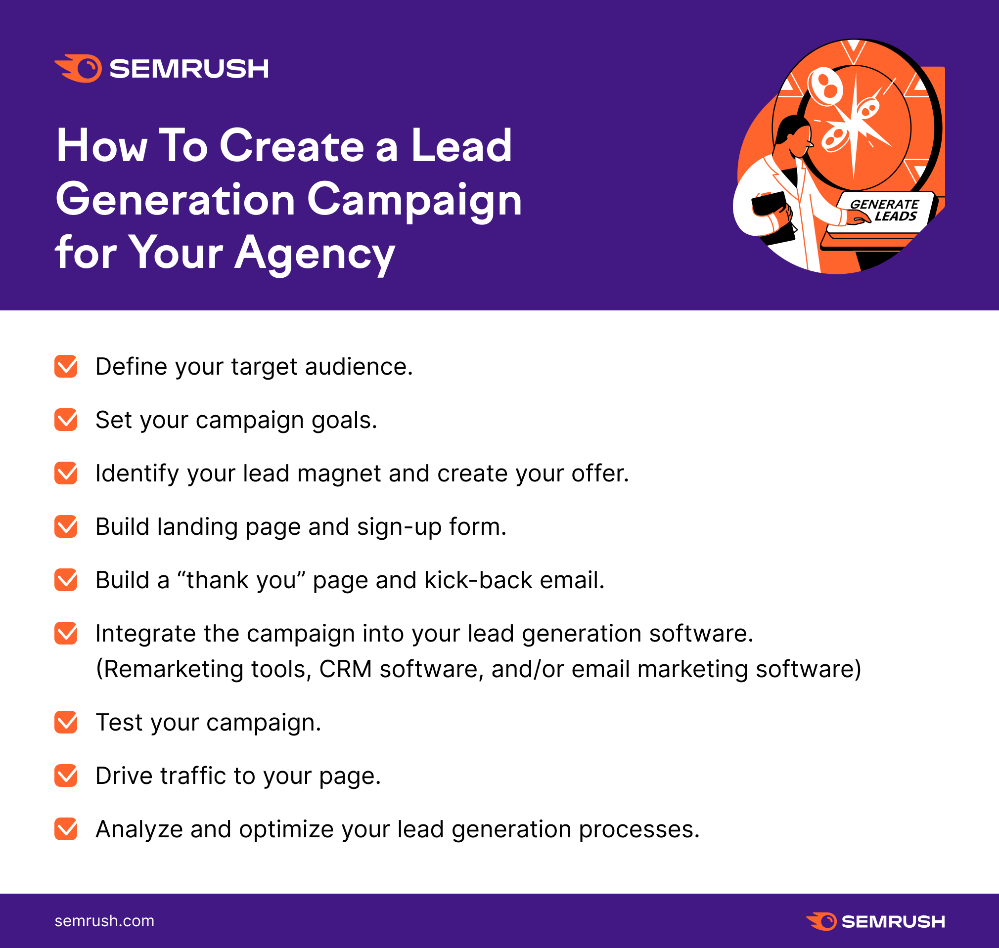 How To Create Lead Generation Campaign for Agency
