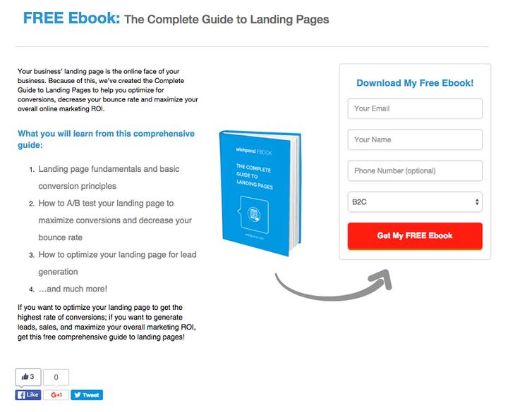 Aspectos importantes de una landing page de AdWords