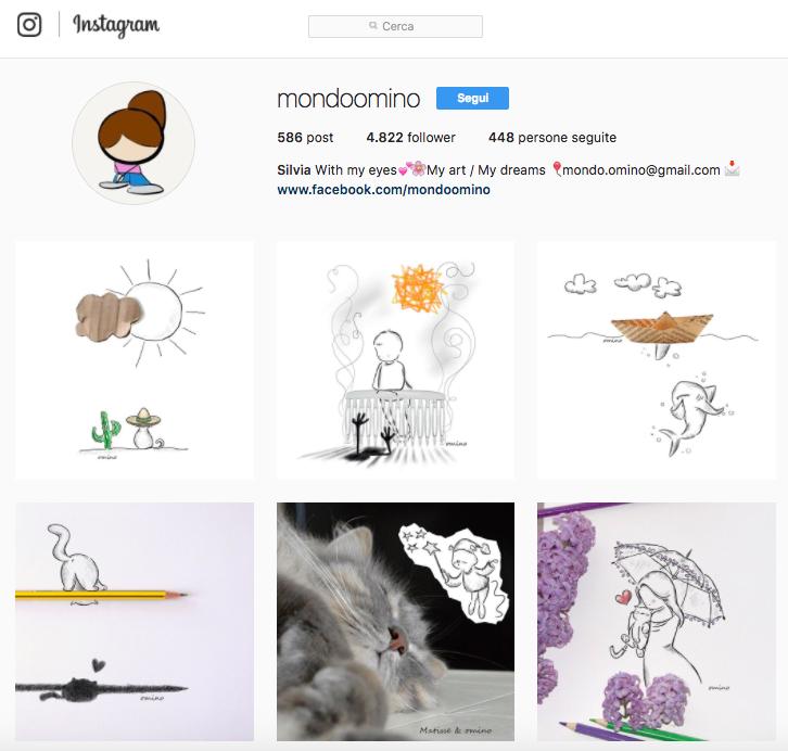 Account ispirazionali da seguire su Instagram: Mondoomino