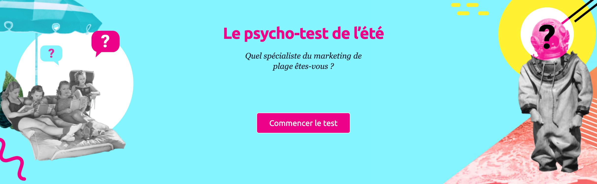 Le psycho-test SEMrush de l'été : quel spécialiste du marketing numérique êtes-vous ?