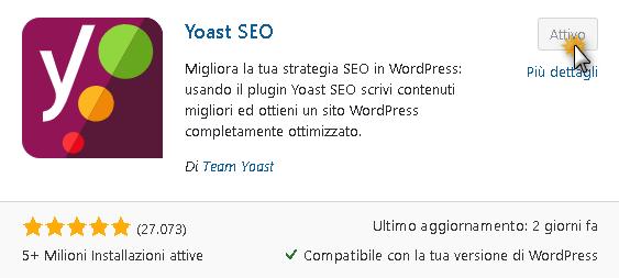 Yoast SEO: plugin per controllare la lunghezza del titolo di pagina