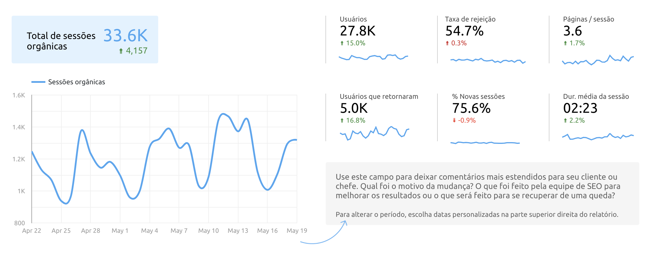 SEO Template: Organic Traffic Overview