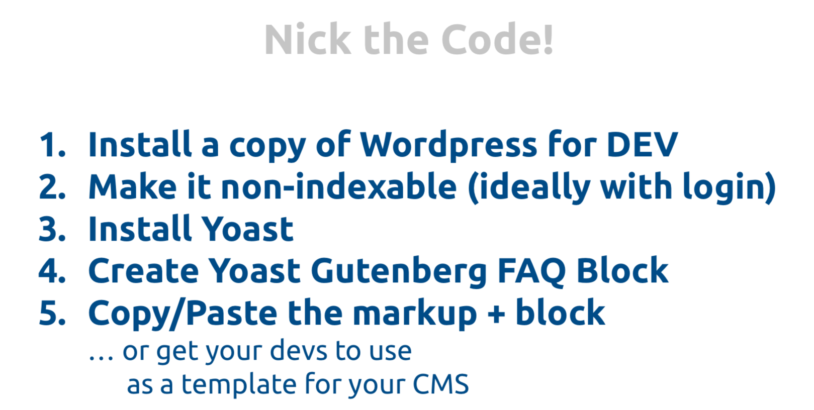 Implementing Yoast Gutenberg FAQ Block