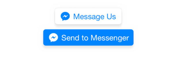 Pulsanti per le chatbot di Messenger