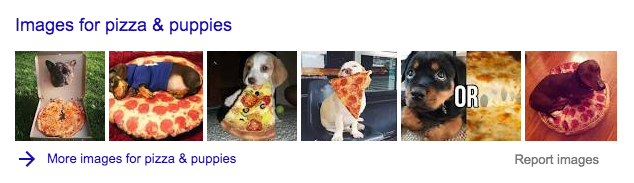 Image pack on SERP