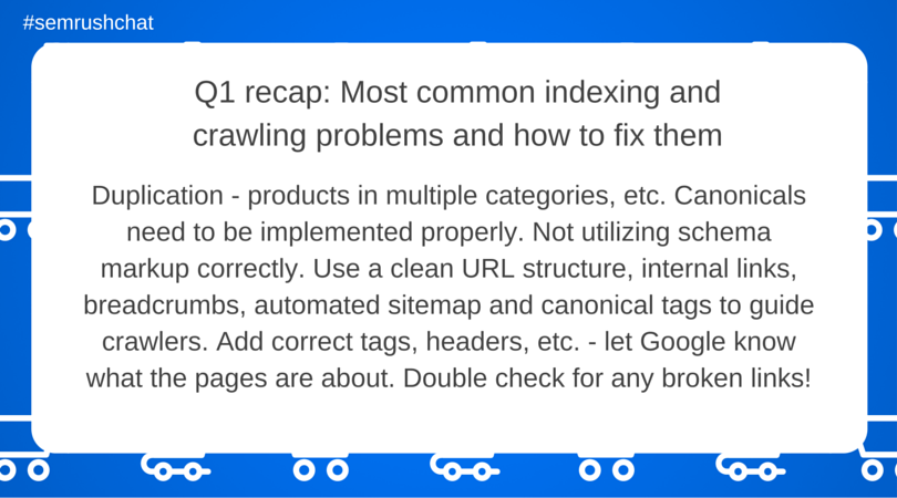 Most common indexing and crawling problems and how to fix them