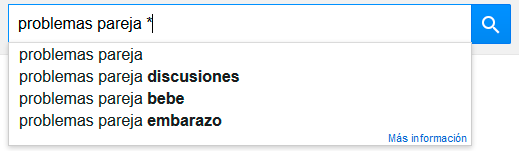 Micronichos - Utilizar asterisco Google de otra forma