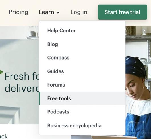 Sự học hỏi từ các thương hiệu của Shopify