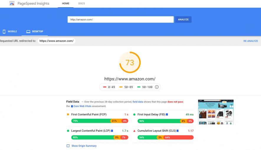 Google Pagespeed Insight- AlfaDigital