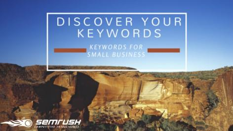 Preview: How to Find Keywords in SEMrush