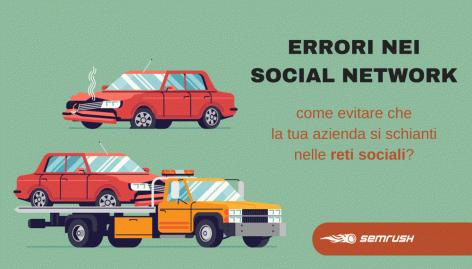 Anteprima: 10 Errori frequenti delle aziende nei social network